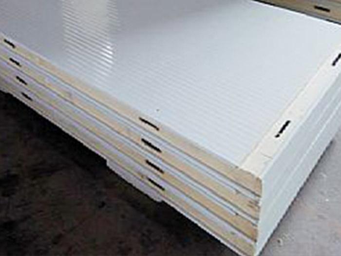 小波纹双面彩钢冷库板